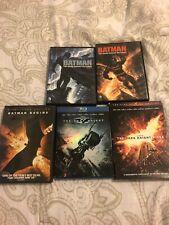 Batman Begins, The Dark Knight, The Dark Knight Rises & Batman Returns 1 & 2