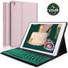 "For iPad 9.7"" 5/6th Gen Air 2/1 Pro Bluetooth Backlit Keyboard Folio Slim Case"