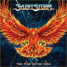 SYLENT STORM - The Fire Never Dies (NEW*US METAL*LEATHERWOLF*FIFTH ANGEL)