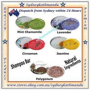 Top Natural Handmade Hair Healthy Herbal 6 Fragrance Shampoo Bar shower Soap 60g