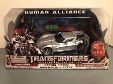 Transformers Revenge Of The Fallen Rotf Human alliance sideswipe lot mib