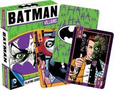 Playing Cards: Batman Villains