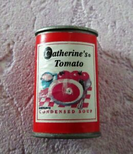 * MAGNET * SMALL TOMATO SOUP'S TIN * Catherine's