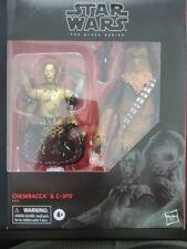 Star Wars Black Series Chewbacca & C-3PO Amazon Exclusive New NIB