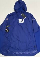 Nike New York Giants Sideline Repel Player Pullover Jacket Mens XL AO3963-495