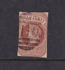 Gb Queen Victoria Stationary cut out Cancel 110 Keighley