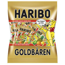 [HARIBO] GOLDBAREN Gummy Bears Candy Assorted Flavors 21 Mini Bags 250g GERMANY