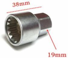 Wheel Lockin Key Anti-Theft Rim Lug Nut Master Removal Tool Security Code Socket