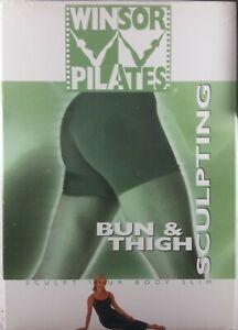 WINSOR PILATES BUN & THIGH Sculpting Brand New & Sealed DVD Mari Winsor