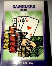 Gamblers Ritual Spiritual Soap 3OZ Indio Products HooDoo Wicca Lottery card luck