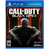Call of Duty Black Ops III 3 Playstation 4 PS4 Brand New Sealed