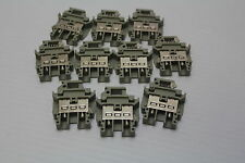 Phonix D-4933 Blomberg BK-4 600V 25A #12 AWG Terminal Blocks ( lot of 10 ) Used