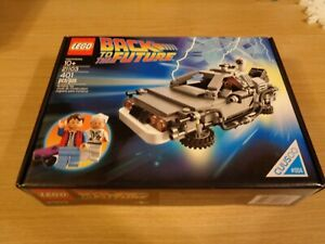 Lego Cuusoo #004 Back to the Future Set 21103 New and Sealed