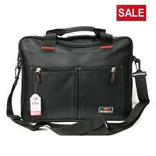 Mens Laptop Messenger Shoulder Bag Briefcase Work Travel Office Document Handbag