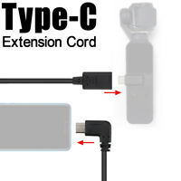 Type-C USB-C Extension Cord Data Sync Extend Adapter Cable For DJI OSMO POCKET