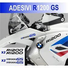 KIT ADESIVI BMW R 1200 GS STICKER BICLORE R1200GS ADESIVO NERO BLU CARENA