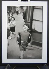 ARCHIVAL GICLEE PRINT OF RUE MOUFFETARD PARIS,1954 * BY HENRI CARTIER-BRESSON