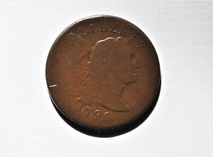 1796 Liberty Cap Cent. S-84. Rarity-3  EAC coin, nice pedigree, with flips