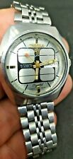 Vintage Retro Swiss WATCH  Tressa Lux Crystal Automatic  1970s