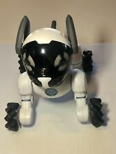 Chip Robot Dog 2015 Wowwee Model 0805D White Dog ONLY Loose Very Good Bluetooth