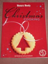 Australian Womens Weekly COOKBOOK  CHRISTMAS COOKING BOOK RECIPES MASTER  CHEF