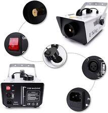 Nebelmaschine Uking 900W Disco Lichteffekt Fernbedienung Disco Bühneneffekt