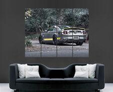 FORD Mustang POSTER Auto compressore di velocità veloce foresta arte foto stampa di grandi dimensioni