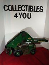 Vintage Pressed Steel Doepke Model Toys Barber Green Bucket Loader
