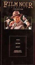 Film Noir Classics :D.O.A. / Detour / Impact / Kansas City Confidentil Like New
