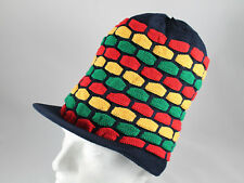 RASTA TAM Chapeau Bleu Marine rastafarienne Reggae Dreadlock Hat