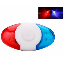 Waterproof Bike Bicycle Cycling Mini Rear Light Safety Warning Tail Police Lamp.