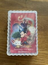 More details for walt disney four parks-one world playing cards complete