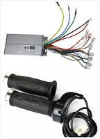 48V 1800W Brushless Controller + Throttle Grip fo Electric ATV Scooter Go Kart