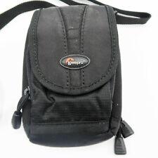 "LowePro Rezo 50 Compact Small Camera Case Bag Pouch Belt Loop Black 5"" x 3.5"""
