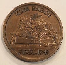 New ListingPearl Harbor Uss Arizona Memorial Museum Foundation Coin Medal