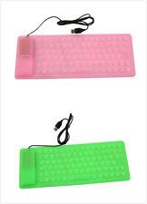 Foldable Keyboard Mini Flexible Silicone Soft Keyboard Mute Portable Keyboard SG