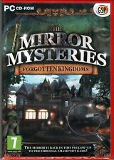 THE MIRROR MYSTERIES 2: FORGOTTEN KINGDOMS Hidden Object PC Game CD-ROM NEW