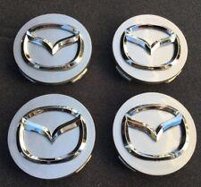 """4x Wheel Hub Center Caps 56mm 2.2"""" MAZDA 2 3 6 ATENZA AXELA CX-5 CX-7 CX-8 W057"""