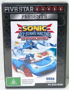 *Brand New* Sega All Stars Racing Transformed for PC - Free Postage
