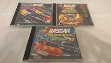 NASCAR Racing 2, Racing 2 50th Anniversary, Pinball - PC Game CD-ROM Lot Set