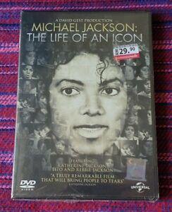 Michael Jackson ~ The Life Of An Icon ( Malaysia Press ) DVD