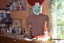 tee shirt repetto neuf marron cinnamon 45 euros