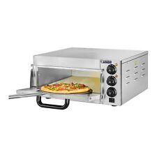 Royal Catering Pizzaofen 2000 W Pizza Backofen Pizzabackofen Flammkuchen Gastro