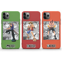One Piece Luffy Zoro Ace Phone Cover Case For iPhone 11 Pro Max XR XS 8 7 SE 2nd