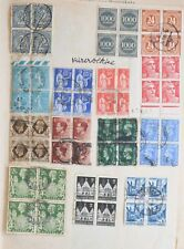 00000Dfb Grerat Britain 1941, Germany France, collection of 4 sheets