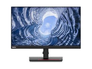 """Lenovo ThinkVision T24i-20 23.8"""" IPS LED Monitor - Raven Black"""