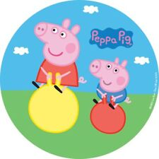 Peppa Pig Edible Image 16cm Round George Pig Cake Topper