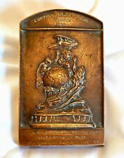 More details for usa bronze pioneering aviation tribute medal. curtiss marine flying trophy 1915.