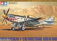 Tamiya 61044 1/48 Scale Model Fighter Aircraft Kit North American F-51D Mustang