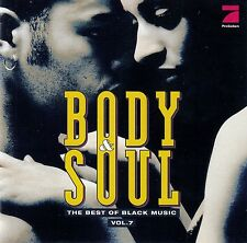 BODY & SOUL VOL. 7 - THE BEST OF BLACK MUSIC / 2 CD-SET - TOP-ZUSTAND